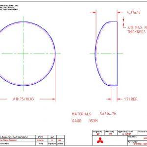 """10.75""""OD-.353""""MIN-1.71""""FL"""