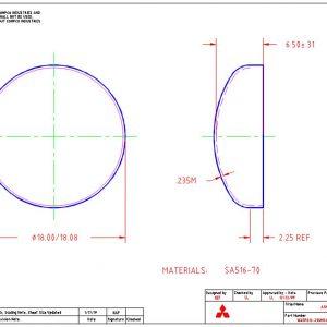 """18""""OD-.235""""MIN-2.25""""FL"""